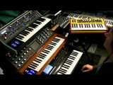 Analogue Synth Power - Studio Jam with 2 Moogs and a Dave Smith Mopho keys in the lead