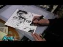 Famous mangaka draw (Tite Kubo,Masashi Kishimoto,Takeshi Obata,Eiichiro Oda)