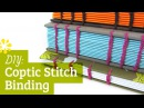 DIY Coptic Stitch Bookbinding Tutorial | Sea Lemon