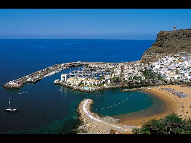 Puerto de Mogan, Embalse de Soria, Playa de Tasarte, Restaurante Oliva. Gran Canaria. Spain 4K (UHD)
