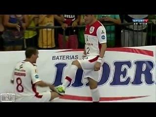 Falcão faz Golaço de Cobertura na Final da Libertadores Futsal 2015