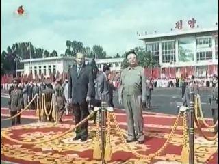 Визит Президента России В.В.Путина в Северную Корею (2000 год).