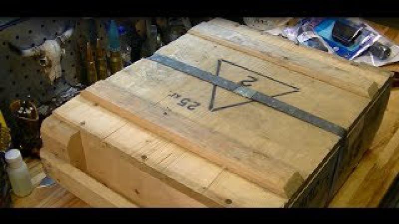 Патрон 7.62 х 54R: разбоксинг ящика