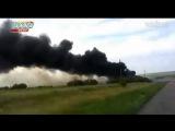 В Интернете появилось новое видео снятое сразу после падения сбитого Boeing 777