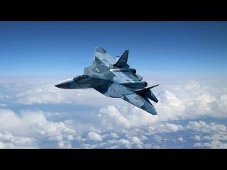 Т-50 Самолет-Невидимка. Характеристики. Пак Фа Убийца Американского Истребителя Raptor F-22
