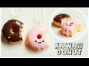 Polymer clay Kawaii Donut/Doughnut TUTORIAL