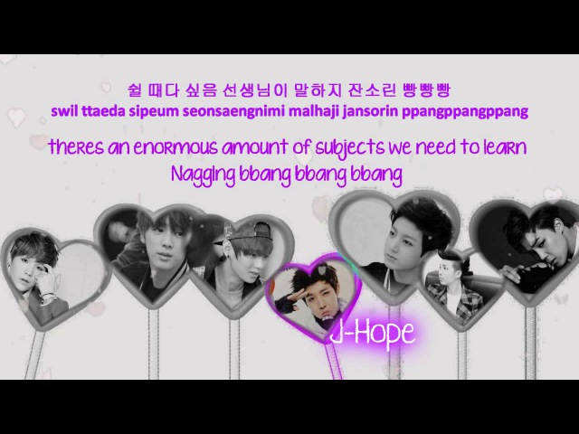 BTS (Bangtan Boys) Second Grade [Eng Sub Romanization Hangul] HD