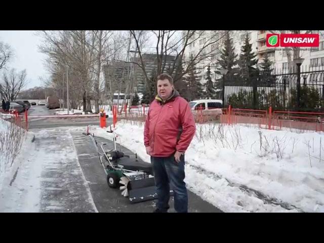 Зима-STOP Подметальные машины Caiman