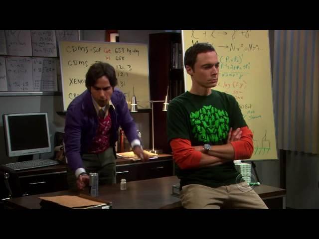 The Big Bang Theory: Eye Of The Tiger RUS