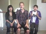 Trio singing