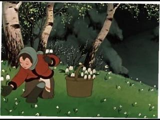 Двенадцать месяцев, мультфильм 1956 г.