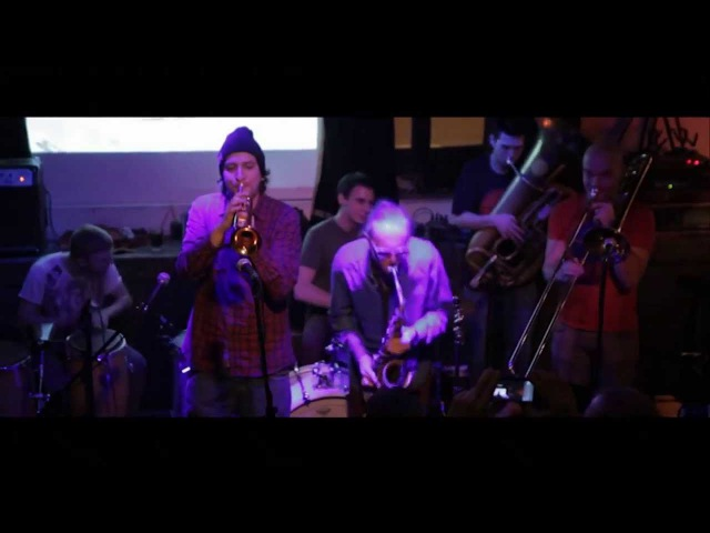 1/2 Orchestra - Flat beat (live in Мастерская 01.02.2013)