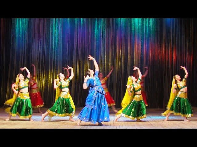 Mere hathon men, Indian Dance Group Mayuri, Petrozavodsk, Russia