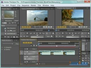 Adobe® Premiere® CS4 - Команды для удаления клипов или их фрагментов