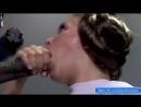 Звездные Войны - Дарт Вейдер кончает в рот сперму Леи и она обмазывает все лицо спермой (Порно Минет Пародия)
