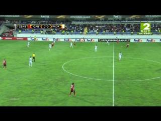 2015.09.17 Лига Европы. Группа C. 1 раунд. Габала - ПАОК. Тайм 1