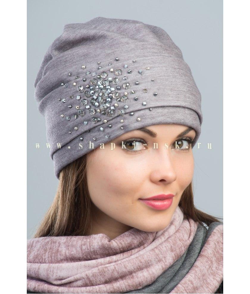 Женские трикотажные шапочки