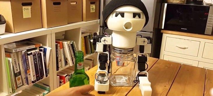 Дринки - робот-собутыльник