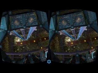 Gravity train vr 3d sbs 1080p gameplay google cardboard virtual reality video