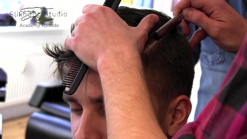 Slikhaar. Mad Men hair style - Mens hair classic look - Slikhaar Academy of Denmark