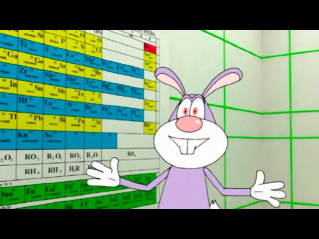 Развивающие мультфильмы - Занимательная химия
