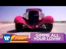 ZZ Top Gimme All Your Lovin' OFFICIAL MUSIC VIDEO
