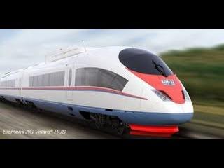"""Скоростные поезда. Работа """"Velaro RUS"""" ("""