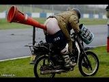 Пьяные придурки на мотоциклах 2015   Лучшие приколы за осень 2015