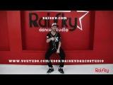 Он лайн урок -  Hip hop от Кирилла Ракитского - 1 part - RaiSky Dance Studio