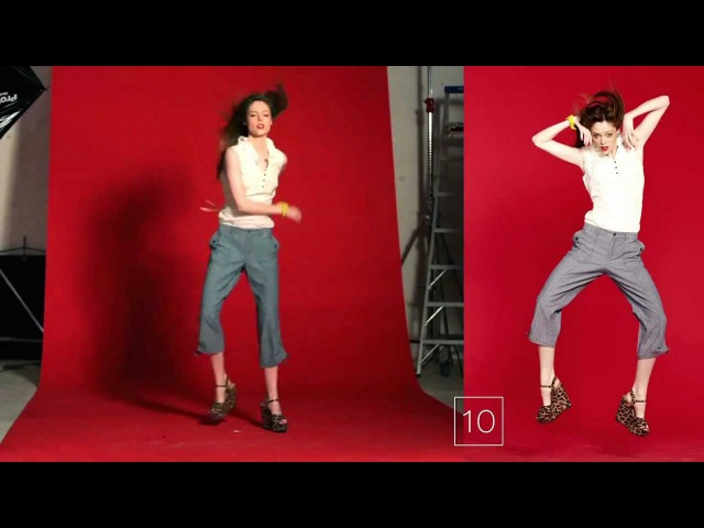 Coco Rocha, The Making of a Cover Shot