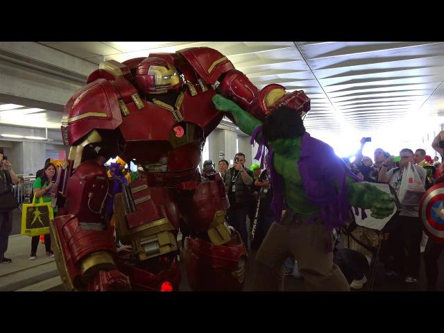 Косплей Халкбастера - лучший косплей Marvel 2015 | Hulkbuster Cosplay at NYCC 2015 by Extreme Costumes