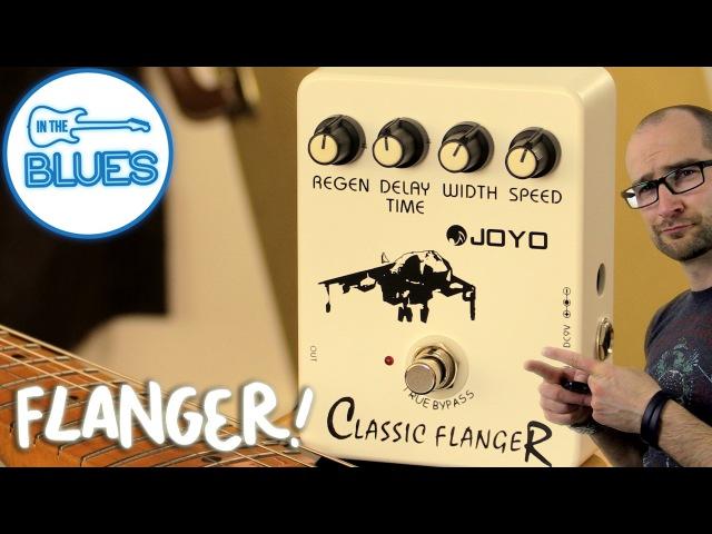 Joyo Classic Flanger Pedal Demo