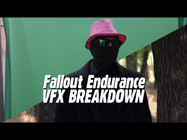 VFX breakdown Fallout 4: Endurance (Before and After)