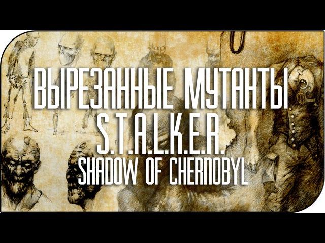 Вырезанные мутанты S T A L K E R Shadow of Chernobyl