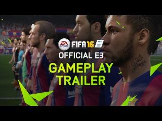 FIFA 16 официальный трейлер к игре