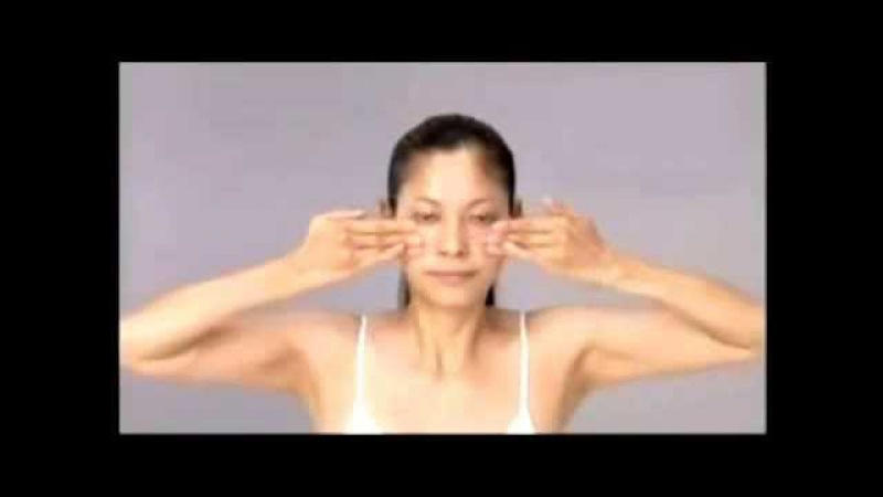 Японский массаж лица (русский перевод)