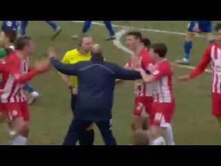 Wimbledon vs Accrington Stanley - Referee Ruled it out (05/03/2016)