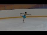 Дарья Пирогова, сдача на Юный фигурист