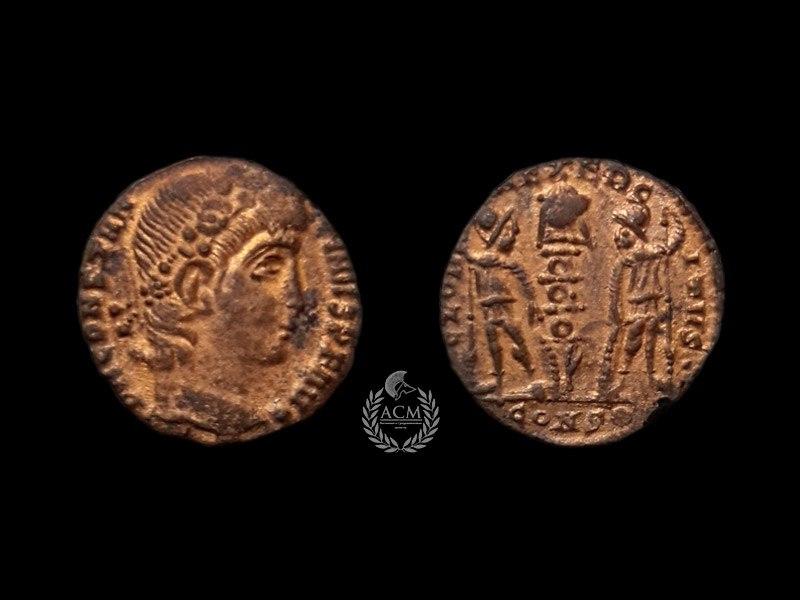 АЕ 4. Рим. Константин II (337-340 гг.)