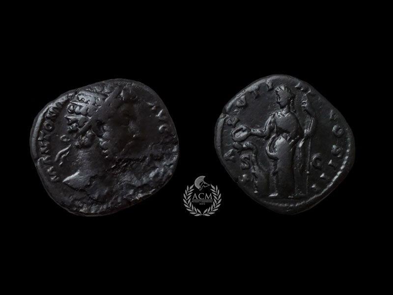 Дупондий. Рим. Марк Аврелий (161-180 гг.)