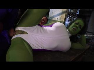 As hulk chyna xxx she