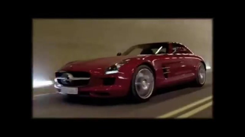 Михаэль Шумахер,Mercedes SLS AMG смертельный трюк в тоннеле
