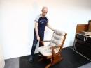 Кресло качалка маятниковая глейдер ЗНАК