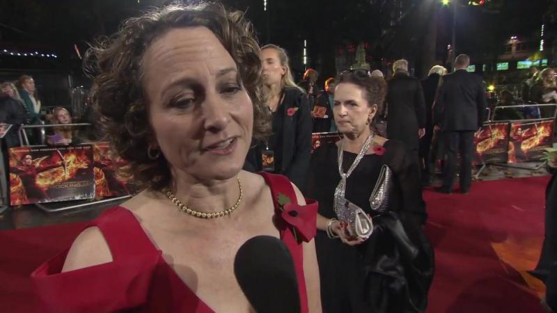 Интервью Нины Джейкобсон на премьере СП2 5 ноября Лондон