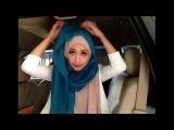 Easy hijab tutorial #23 (memanfaatkan jilbab paris jadi segipanjang)