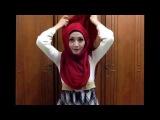 Easy hijab tutorial #8 (arabian style)