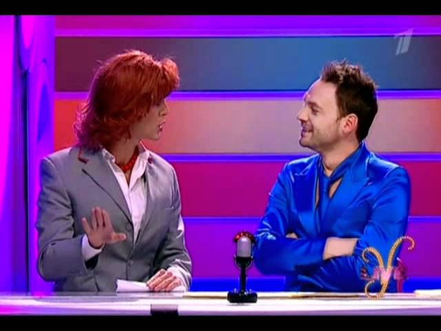 Марк Тишман, Интервью проводницы,Yesterday LIVE, 25.12.2011