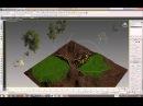 MultiScatter-все функции плагина, создание массивов травы и деревьев