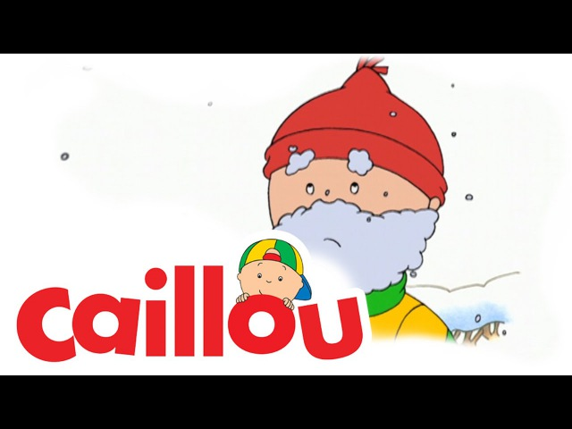 Caillou - Caillou's Snowman | Cartoon for Kids