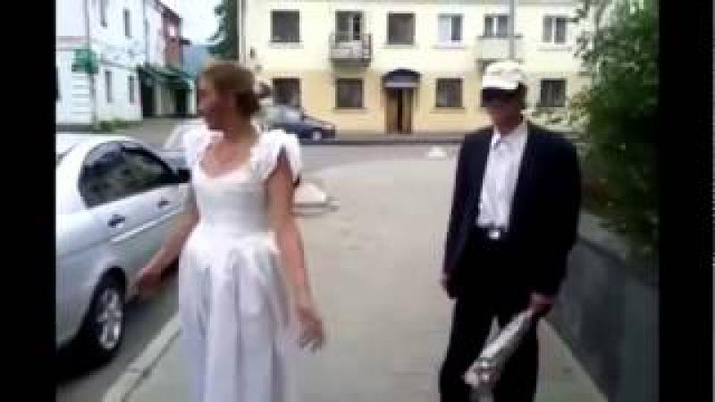 Свадьба у БОМЖЕЙ ПЬЯНАЯ НЕВЕСТА НАПАЛА НА МУЖИКА